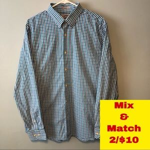 Express Fitted Button Down Shirt Size XL